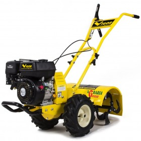 MOTORCULTIVATOR VIGOR V-MC65 WITH WHEELS AND CUTTER CM. 50 HP PETROL ENGINE. 5