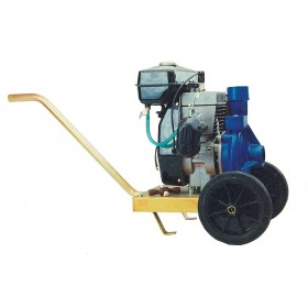 MOTOR PUMP FOR IRRIGATION CM 90/1 CENTRIFUGAL WITH TROLLEY
