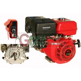 HORIZONTAL TYPE PETROL ENGINE HP. 13 CYLINDRICAL ELECTRIC START