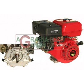 HORIZONTAL TYPE PETROL ENGINE HP. 9 CYLINDRICAL RECOIL STARTER
