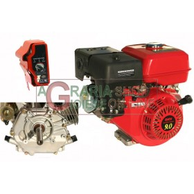 HORIZONTAL TYPE PETROL ENGINE HP. 9 CYLINDRICAL ELECTRIC START