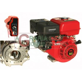 HORIZONTAL TYPE PETROL ENGINE HP. 9 CONICAL ELECTRIC START