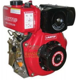 DIESEL ENGINE FOR MOTORCOLTICORE WITH CONICAL SHAFT CC. 418 HP.
