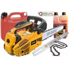 ALPINE CHAINSAW A 305 CC. 25.4 CARVING BAR CM. 25 A305 FOR FREE PRICE OF BIN CHAIN BAR OIL