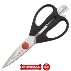 MUNDIAL KITCHEN SCISSORS INOX REMOVABLE CM. 21