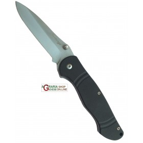 MUSTANGS SEMI-AUTOMATIC KNIFE STAINLESS STEEL BLADE HANDLE IN G10 mm. 195