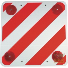 PLASTIC SIGN FOR PROJECTING LOADS CM 50X50