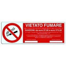 NO SMOKING SIGNAL SIGN 350X120 MM