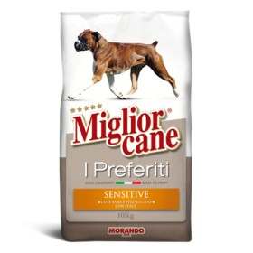 MIGLIORCANE KG. 10 SENSITIVE FAVORITES WITH FISH