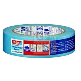 PAPER ADHESIVE TAPE FOR CAR BODY BLUE MM. 25X50 MT. 50
