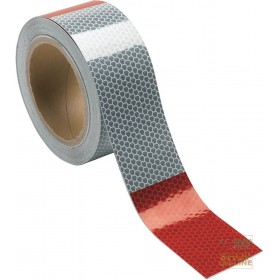 ADHESIVE RETRO-REFLECTIVE TAPE DM 1300 HORIZONTAL LOSANGHE WITH MICROPRISMS 10 METER ROLL