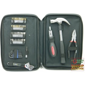 CASALS KIT INSERTS FOR DRILL WITH SCREWDRIVER HAND TOOLS 52 PIECES