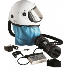 FULL-FACE HELMET FOR KASCO K80S T8 ELECTRIC RESPIRATOR