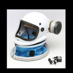 FULL FACE HELMET FOR ELECTRO-RESPIRATOR KASCO PROF88-LIZA2P3