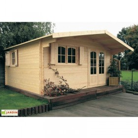 Chamonix wooden house 478 x 418 x 253 h. cm - onlywood
