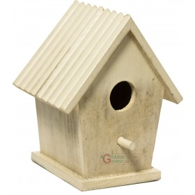 WOODEN HOUSE FOR BIRDS HOTEL MODEL