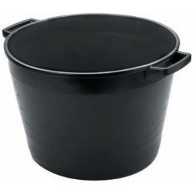 ROUND BOX FOR RUBBLE-MIXING LT. 45 BLACK