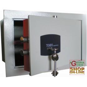 MECHANICAL WALL SAFE DOOR MM. 8 CM.36x20x24h.
