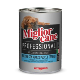 MIGLIORCANE PROFESSIONAL CHUNKS WITH MEAT, FISH AND CEREALS GR. 1250