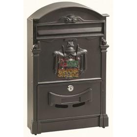 ALUMINUM MAIL BOX MOD. DIRECTOR COLOR BLACK
