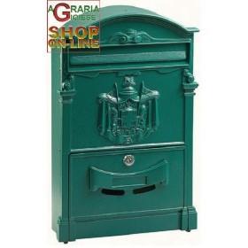 ALUMINUM MAIL BOX MOD. DIRECT DARK GREEN COLOR