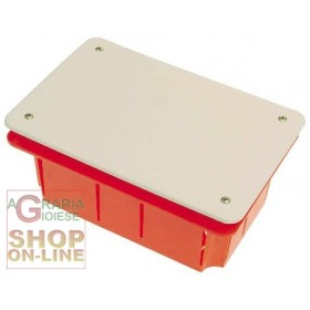 RECESSED JUNCTION BOX WITH IP40 COVER MM.296X153X70