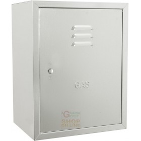 BOX FOR GAS METER IN GALVANIZED SHEET CM. 35 X 25 X 45 H.