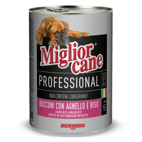 MIGLIORCANE PROFESSIONAL WITH LAMB AND RICE GR. 405