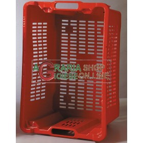 PLASTIC CRATES FOR COLLECTING FRUIT FRUIT OLIVES STACKABLE CM.53X35X31H.