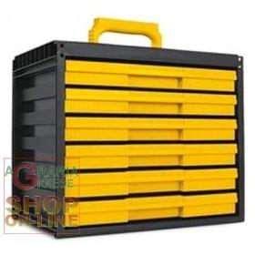 CARGOSYSTEM 6 MODULAR DRAWER WITH 6 DRAWERS CM. 35,5X23,5X30,3H.