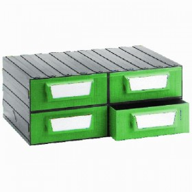 DRAWER FOR OFFICE PVC 4 SEATS