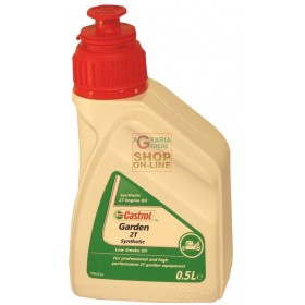 CASTROL GARDEN SYNT 2T SYNTHETIC OIL FOR 2 STROKE ENGINES LT. 0.500