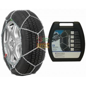 SNOW CHAINS FOR CAR THULE E9 MM. 9 N. 090 SIMPLE ASSEMBLY