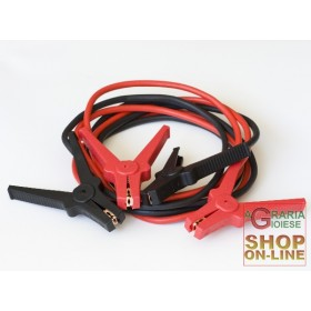 CABLES FOR BATTERY ML. 3 MM. 16 CLAMPS 120A