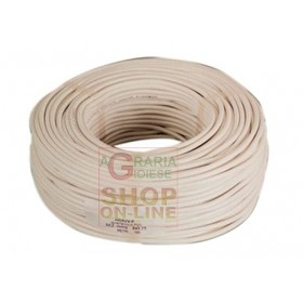 BIPOLAR ELECTRIC CABLE SECT. 2 X 1 WHITE