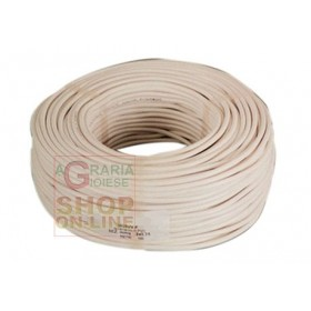 BIPOLAR ELECTRIC CABLE SECT. 2 X 1,5 WHITE