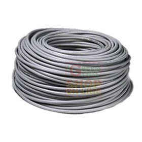 THREE-POLE ELECTRIC CABLE SECT. 3 X 1 WHITE