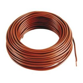 UNIPOLAR ELECTRIC CABLE SECT. 1X2,5 BROWN MT 100