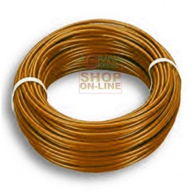 ELECTRIC CABLE UNIPOLAR SECTION 1 X 2,5 BROWN MT. 100