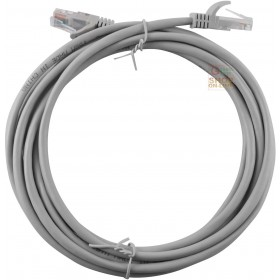 LAN CABLE UTP PLUG RJ45 / RJ45 GRAY MT. 3