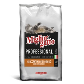 MIGLIORGATTO KG. 17 PROFESSIONAL WITH RABBIT