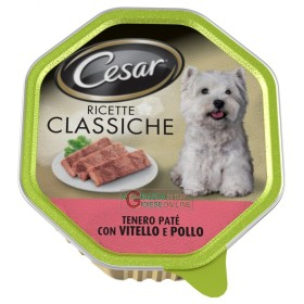 CESAR VASCHETTA PATE WITH VEAL AND CHICKEN CLASSIC RECIPES GR. 150