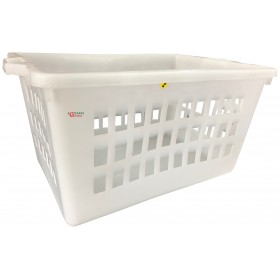 BASKET OF WHITE BREAD LT. 60 CM. 64x42x35