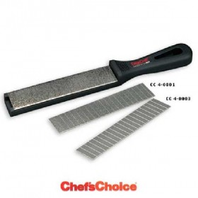 CHEFS CHOIS SHARPENER C / MAGN. AND PLATES