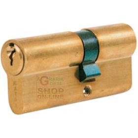 MATRA SHAPED CYLINDER WITH 3 KEYS 70 MM LONG. MEASURE 25 X 10 X