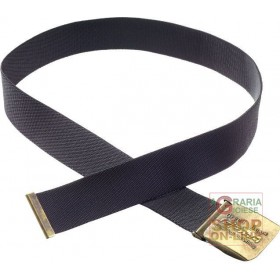 BELT IN TEXTILE BAND WITH GBTINC BUCKLE COLOR BLACK