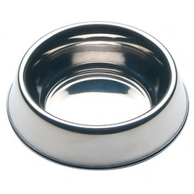 STAINLESS STEEL BOWLS FOR DOGS CM. 21