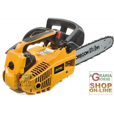 ALPINA CHAINSAW FOR PRUNING A 305 CC. 25.4 BAR TO REEL CM. 25