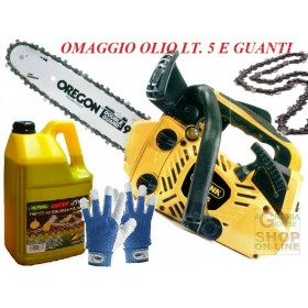 ALPINA CHAINSAW FOR PRUNING A305 OIL KIT, GLOVES, CHAIN AND