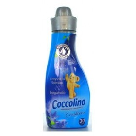 COCCOLINO CONCENTRATO 30 WASHES WILD BELL & BERGAMOT SOFTENING MINI